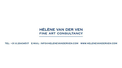 Logo Helene van der Ven - One day gallery